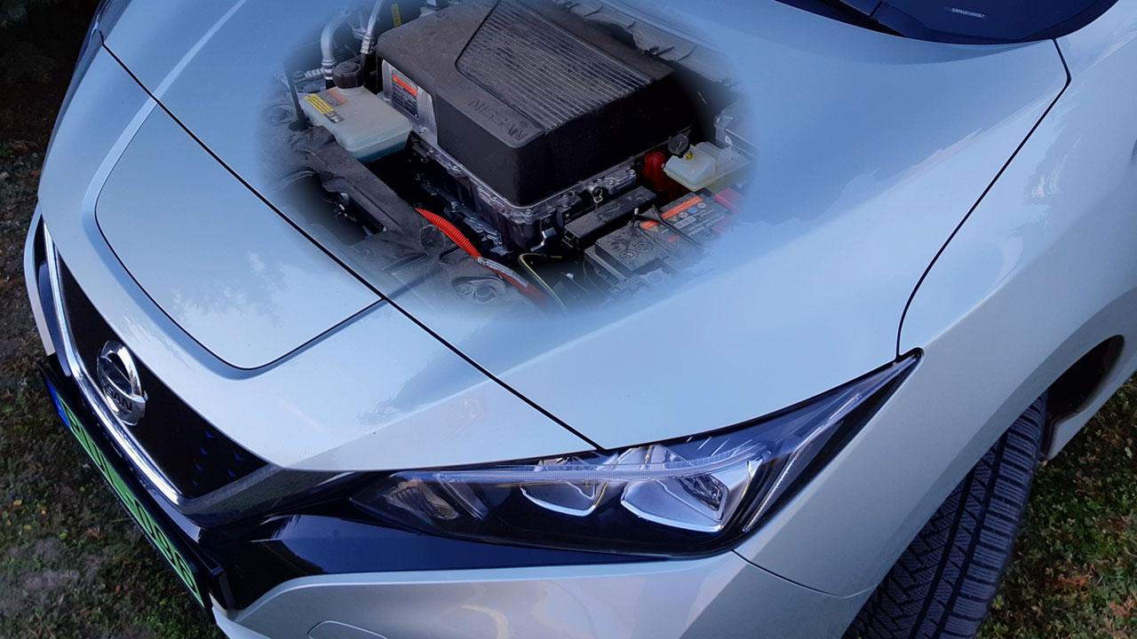Nissan Leaf Tekna motorja