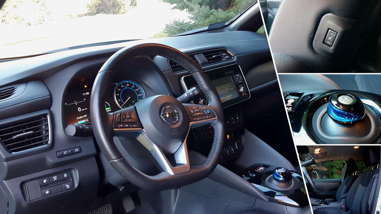 Nissan Leaf Tekna beltér