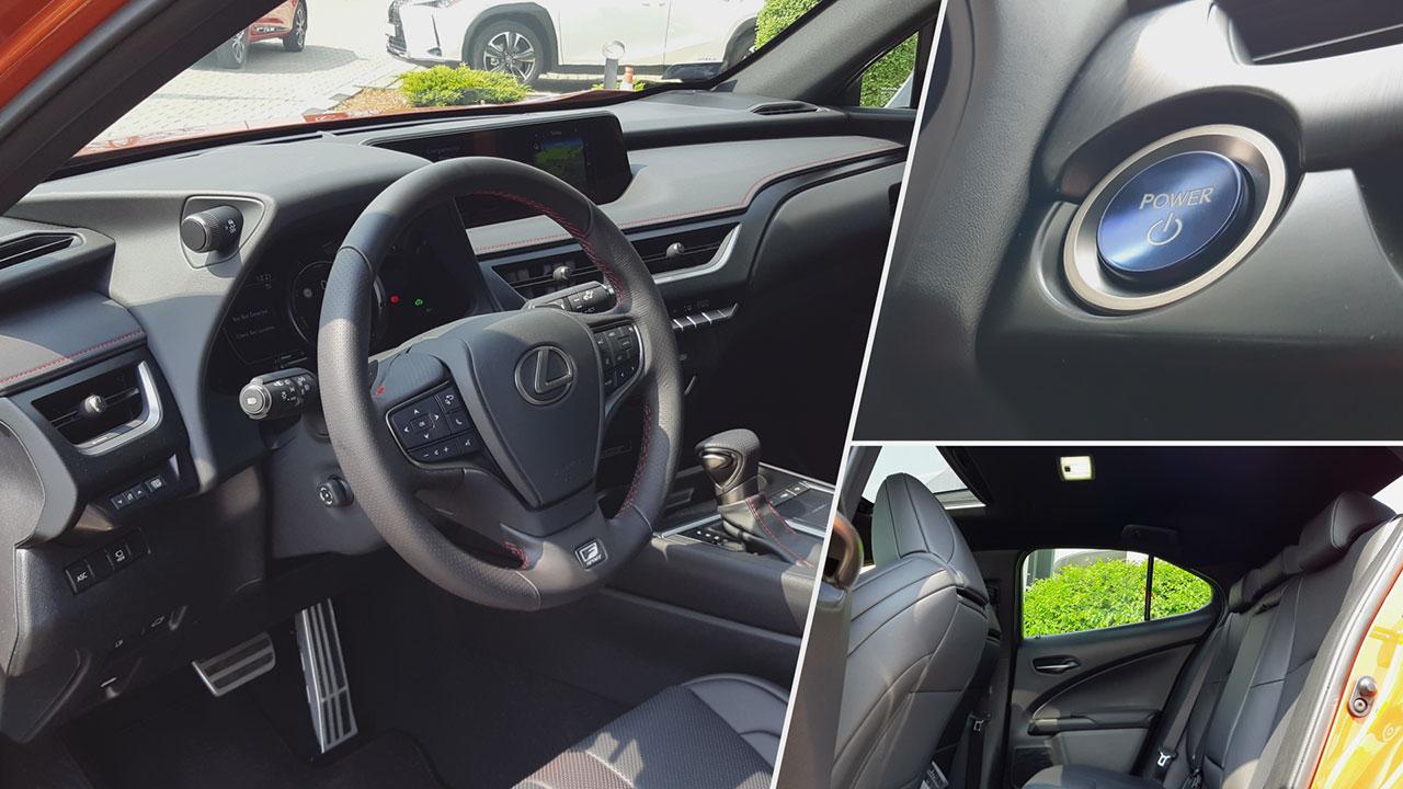 Lexus UX műszerfal