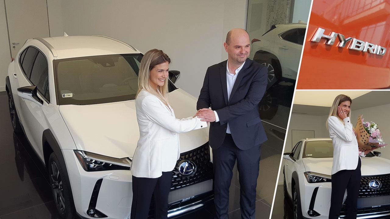 Weisz Fanni lett az új Lexus UX márkanagykövete