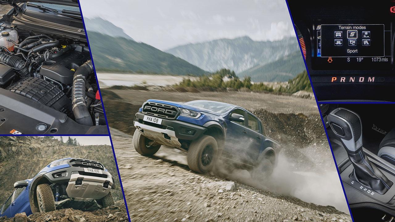 Ford Ranger Raptor 2019 váltó és motor