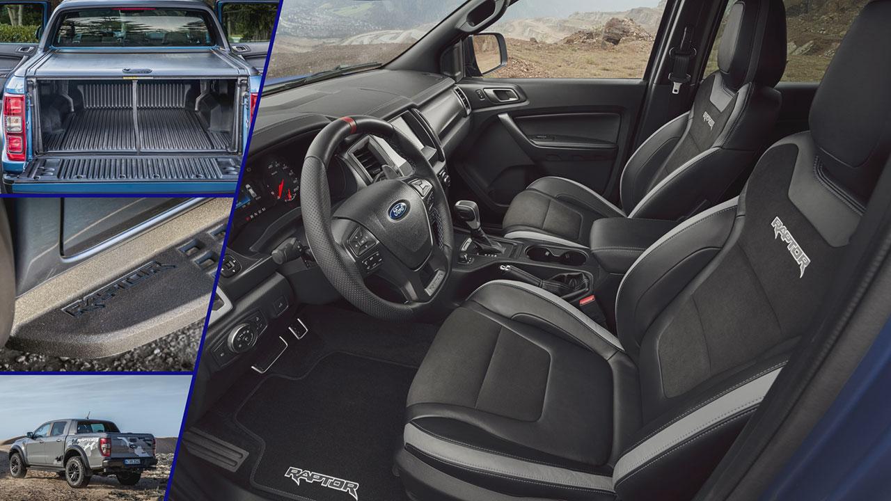 Ford Ranger Raptor 2019 beltere