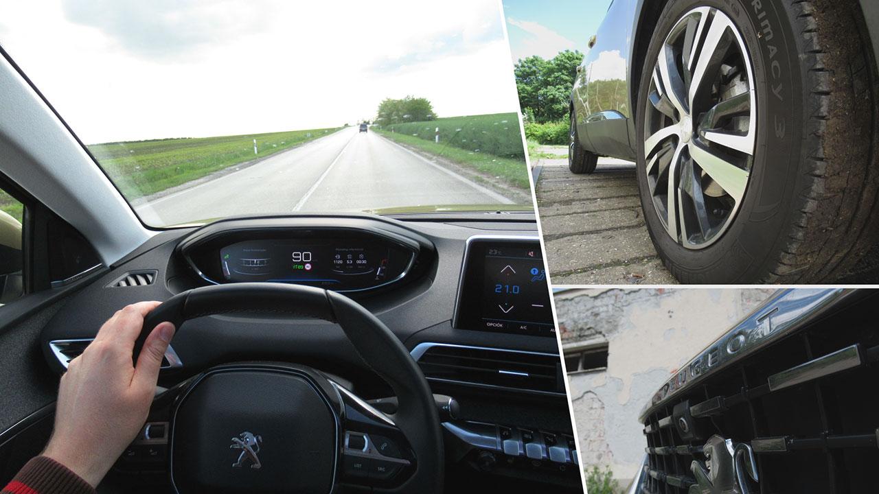 Peugeot 3008 üléspozíciója