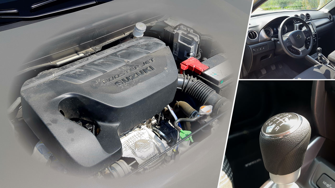 Suzuki Vitara 1,4 literes Boosterjet motor