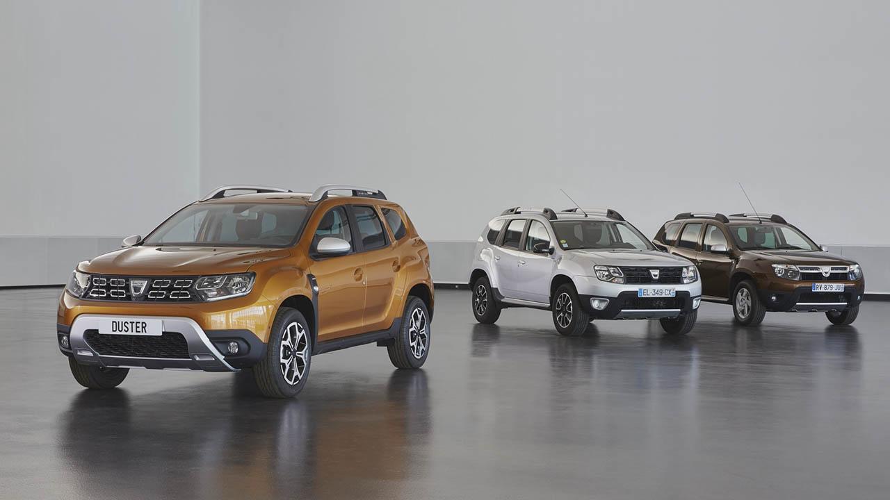 Dacia Duster modellek