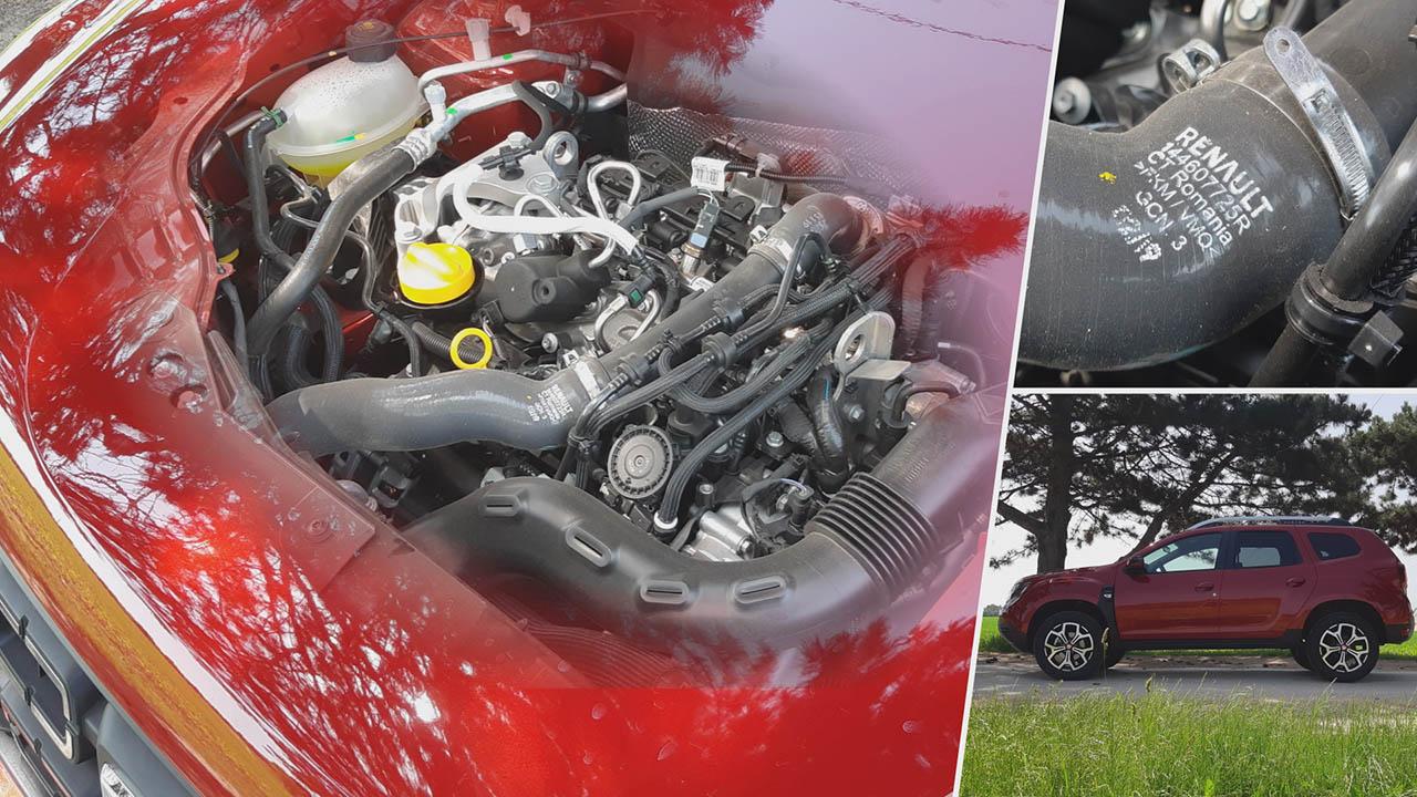 Dacia Duster TCe 130 motorja