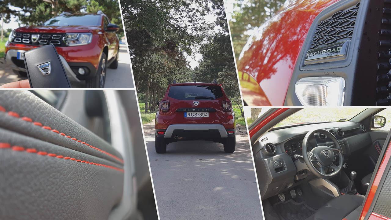 Dacia Duster Techroad felszereltség