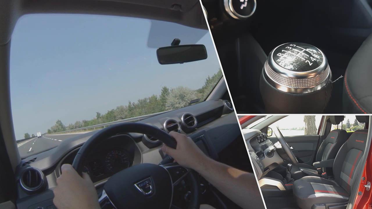 Dacia Duster 2019 vezethetősége