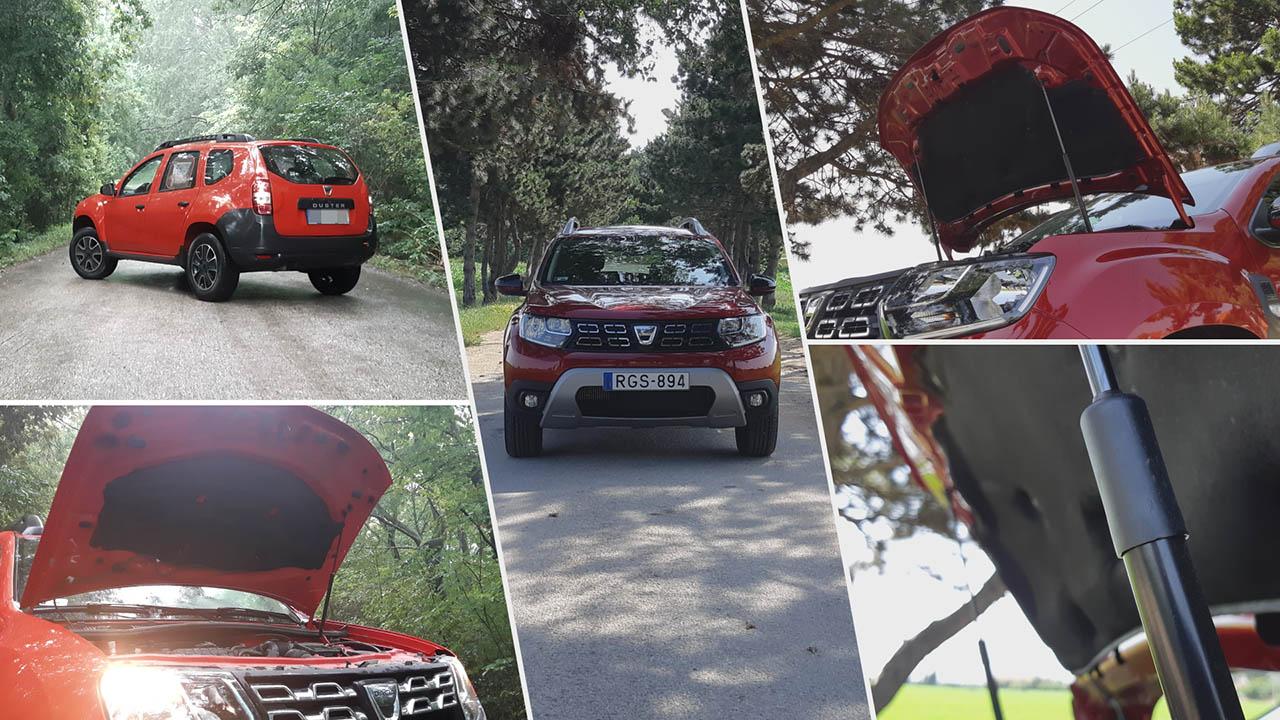Dacia Duster TCe 130 2WD Techroad kívülről
