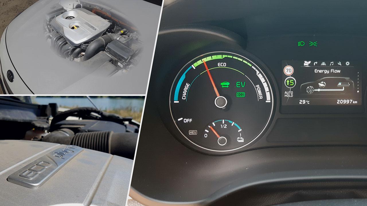 Kia Optima SW 2.0 GDI PHEV motorja