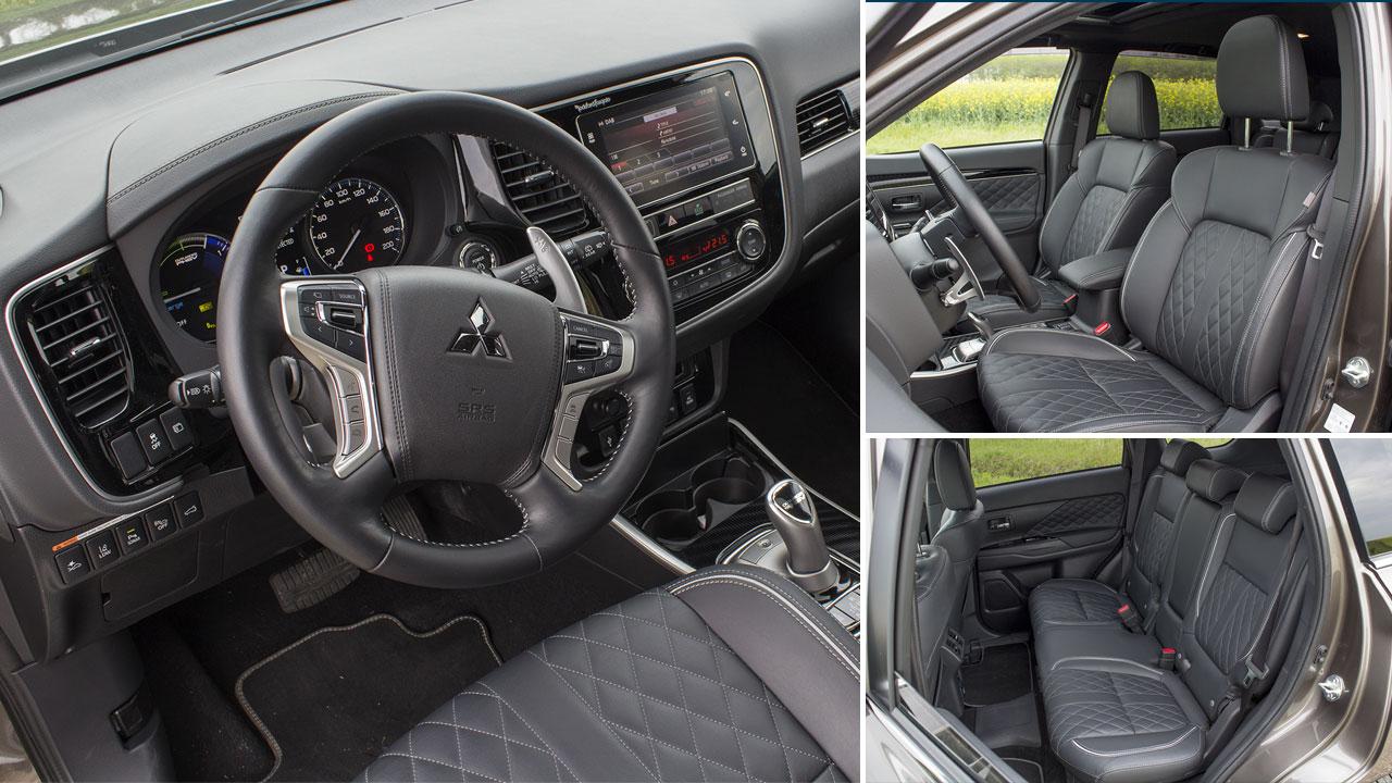 Mitsubishi Outlander PHEV 2019 beltér