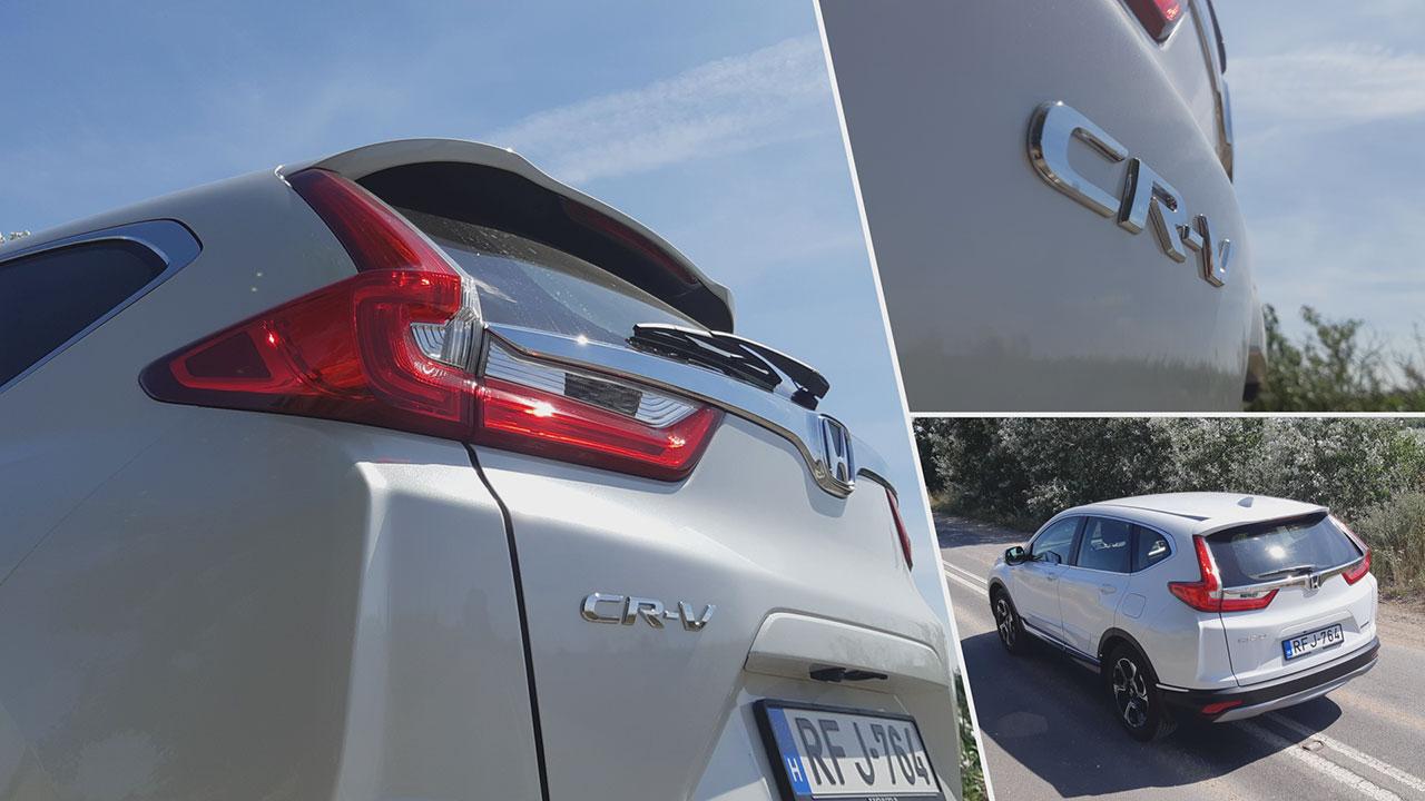 Honda CR-V 2.0 i-MMD Hybrid hátulról