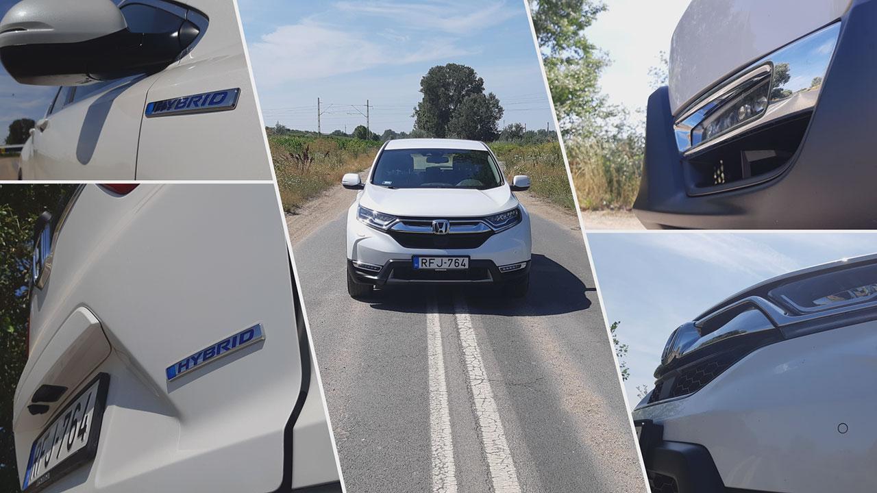 Honda CR-V 2.0 i-MMD Hybrid design