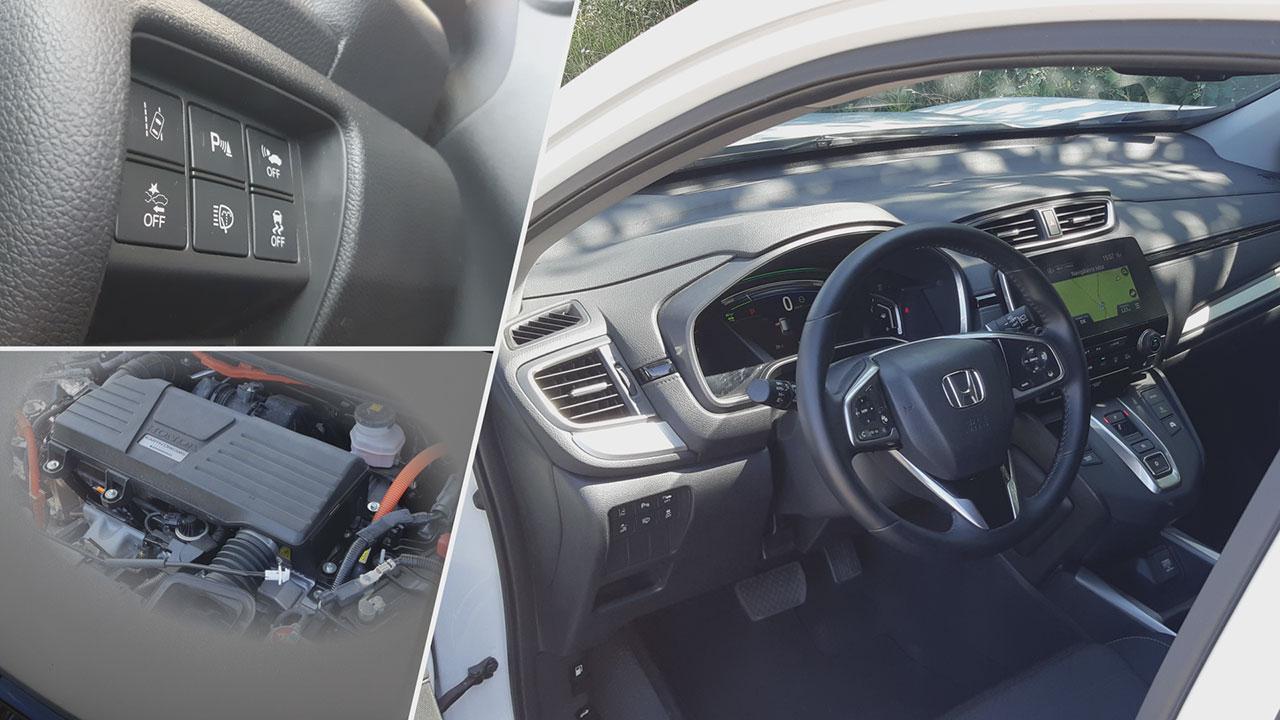 Honda CR-V 2.0 i-MMD Hybrid motorja