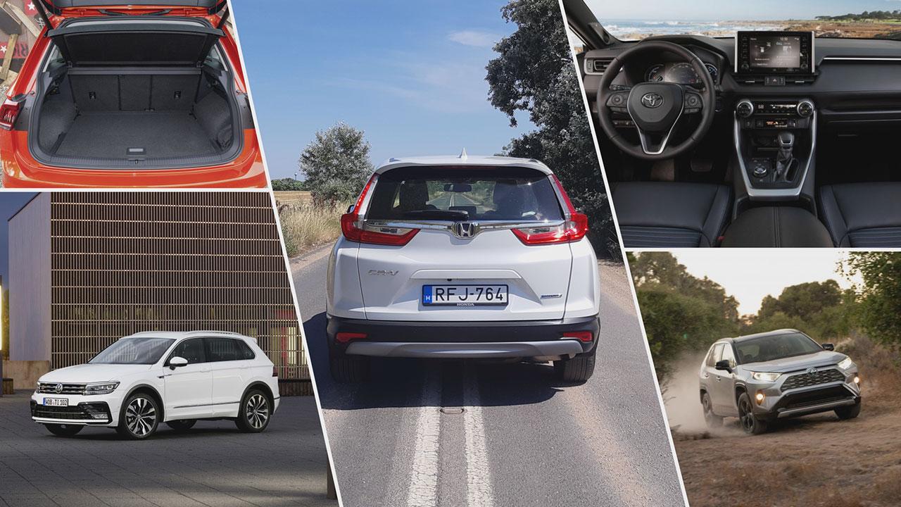 Honda CR-V 2.0 i-MMD Hybrid és konkurenciái