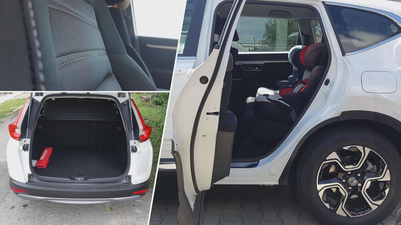 Honda CR-V 2.0 i-MMD Hybrid férőhely