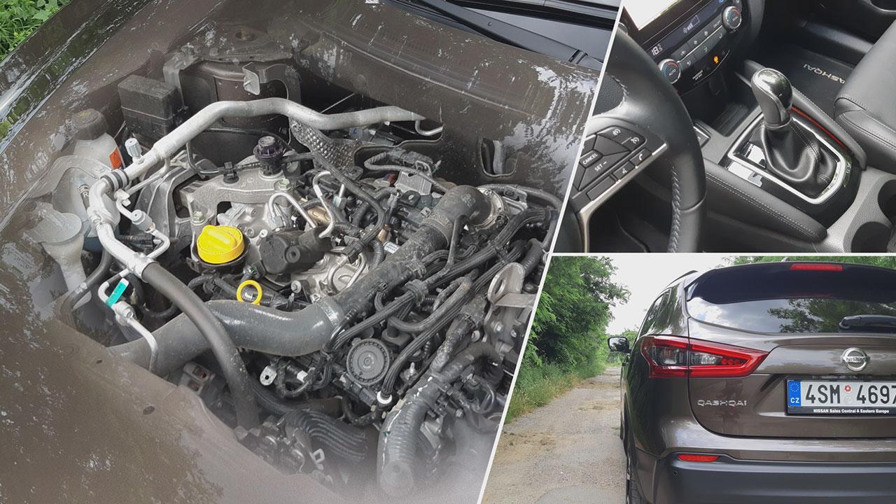 Nissan Qashqai DIG-T 160 DCT TEKNA motorja