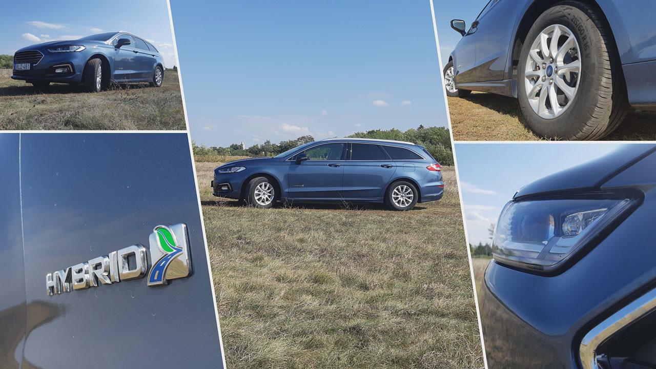 Ford Mondeo Hybrid felni és embléma