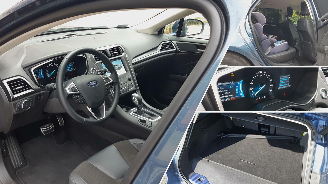 Ford Mondeo Hybrid beltér