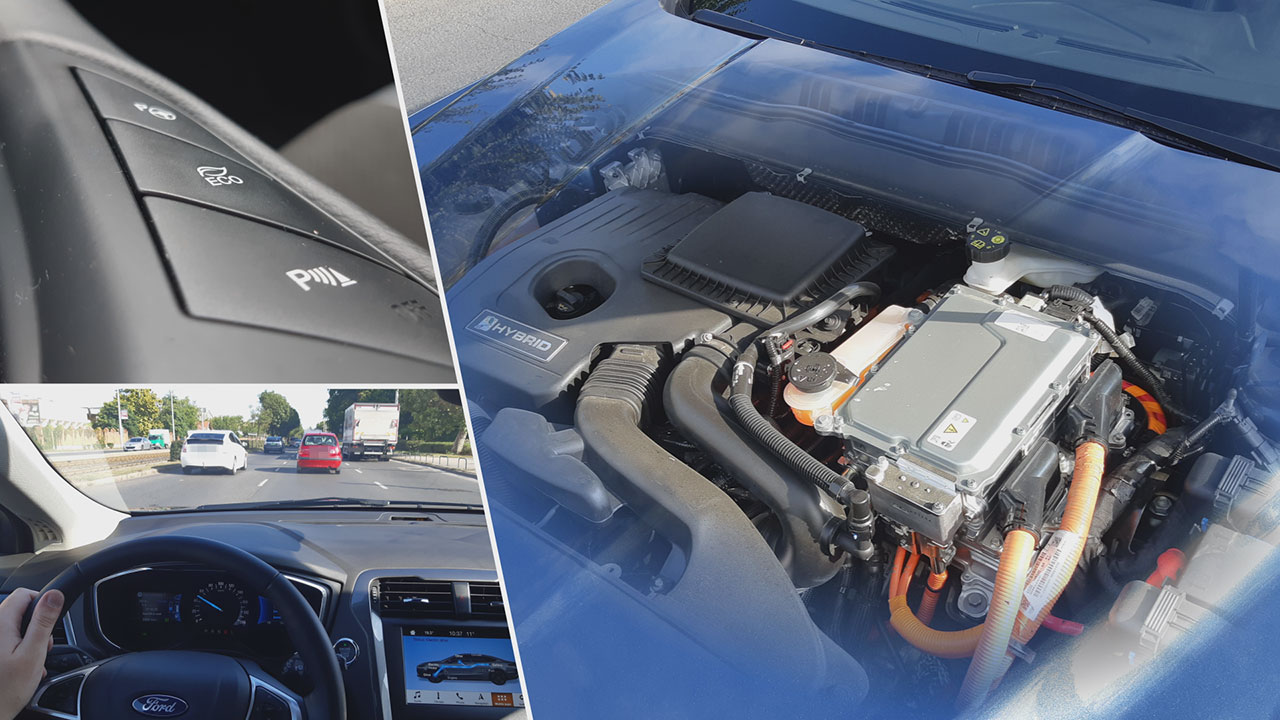 Ford Mondeo Hybrid motor