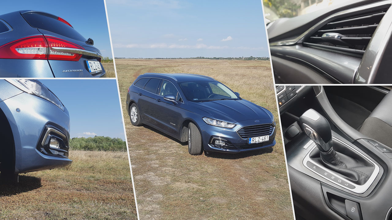 Ford Mondeo Hybrid Kombi Titanium garancia