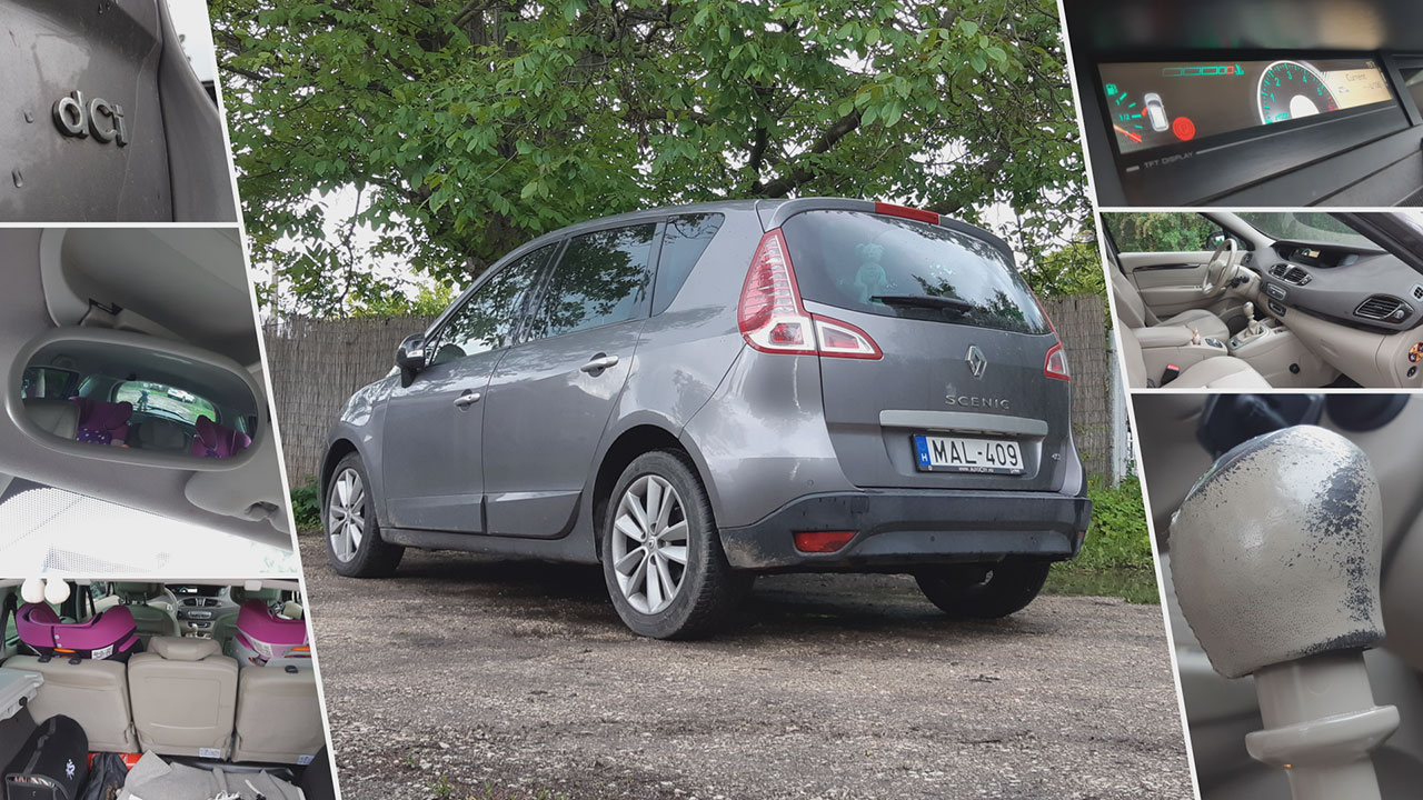 Renault Scénic harmadik generáció