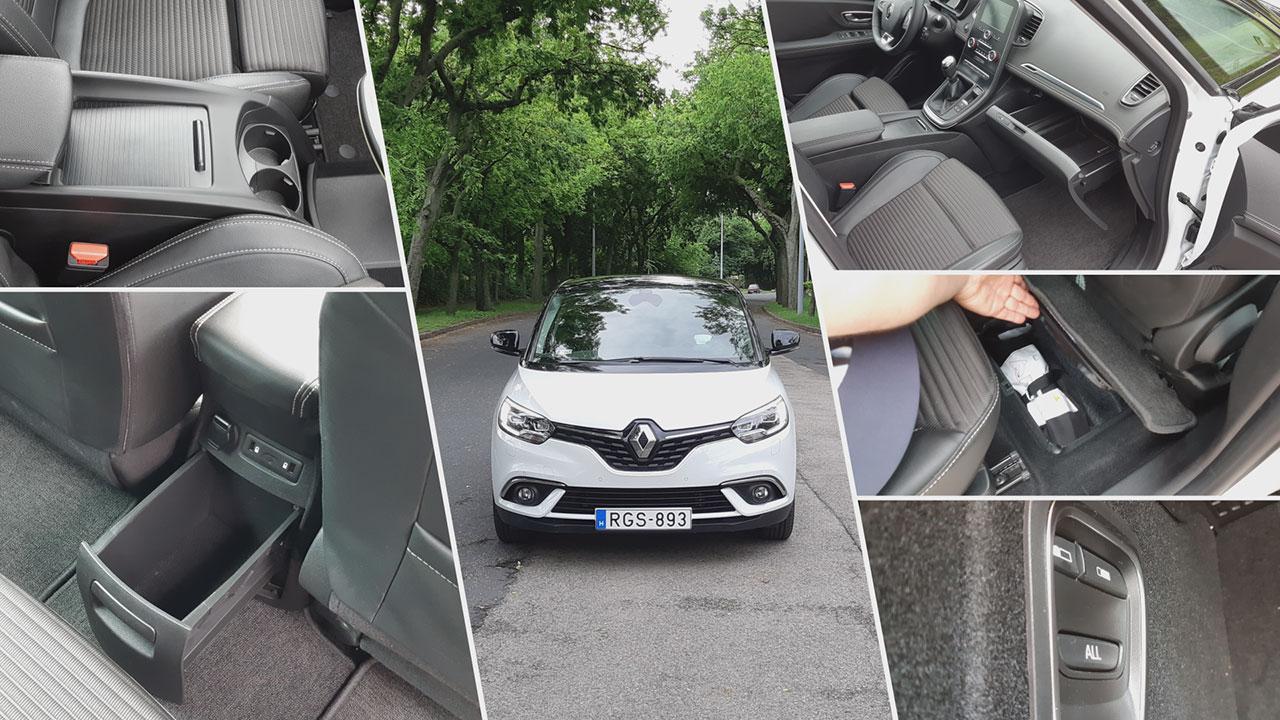 Renault Scénic helykínálat