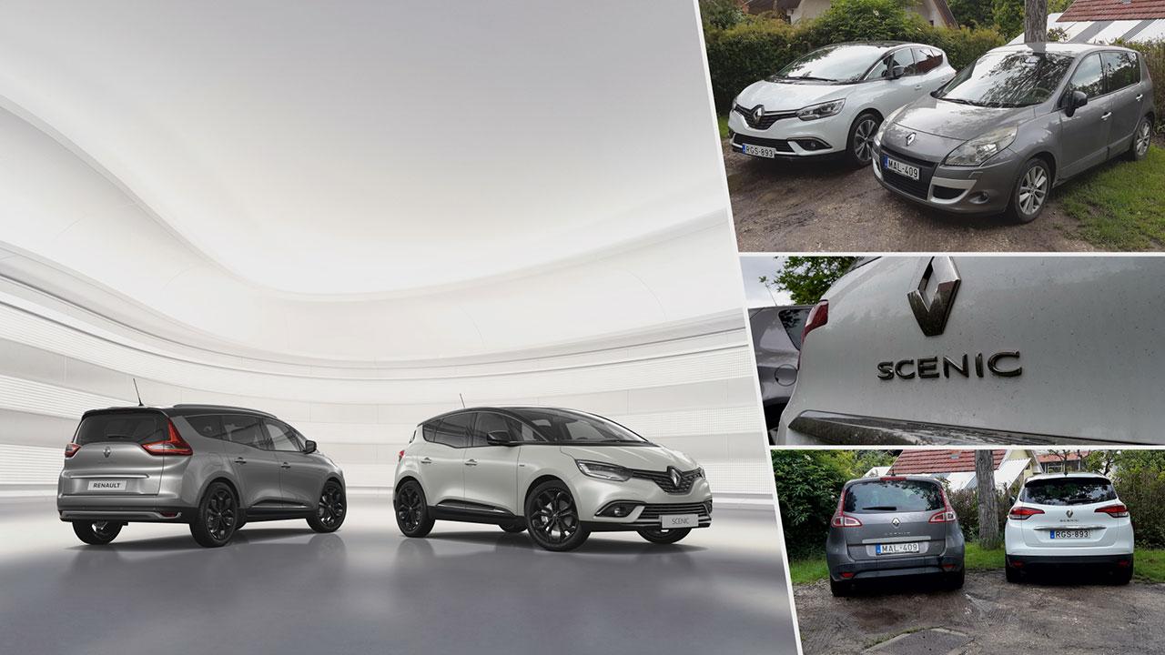 Renault Scénic és Grand Scénic felszereltségek