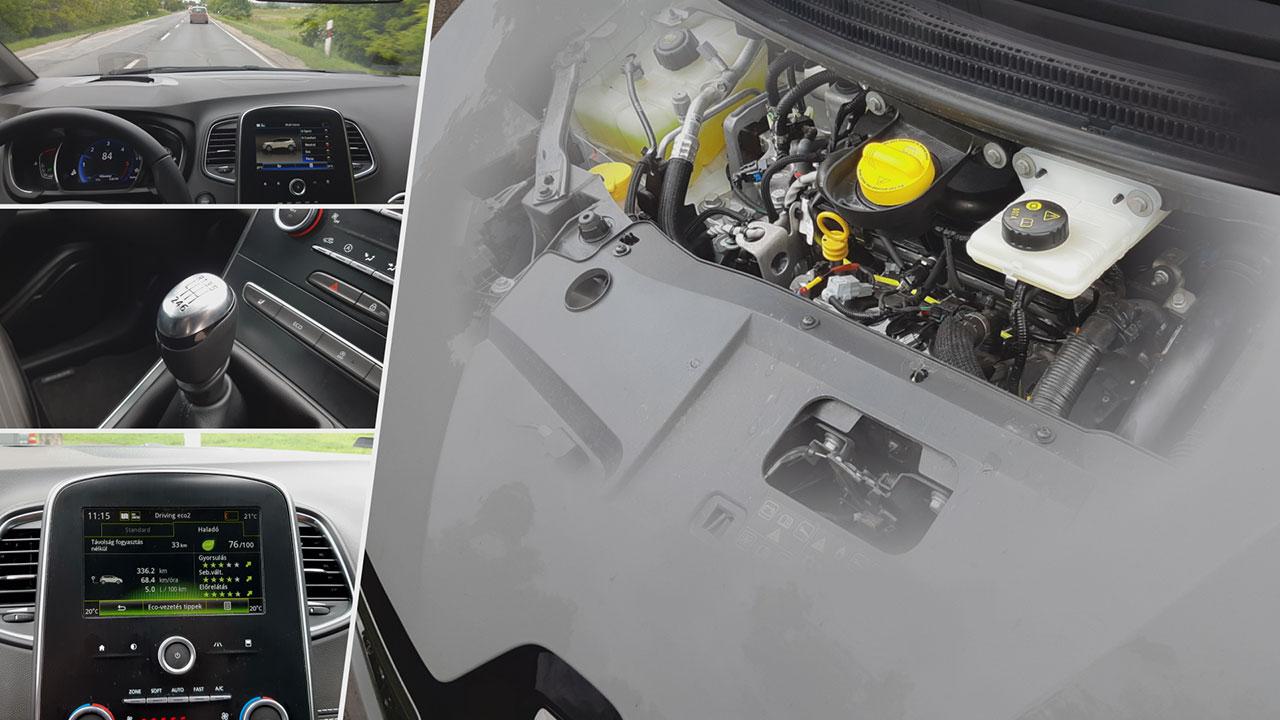 Renault Scénic Blue dCi 120 motorja
