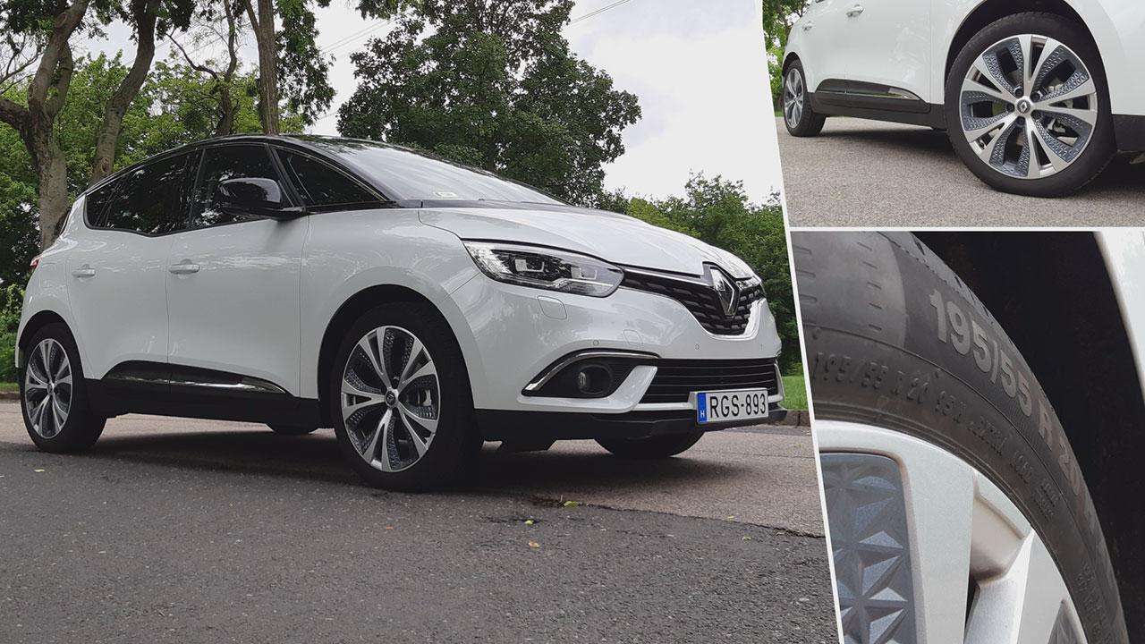 Renault Scénic felnijei