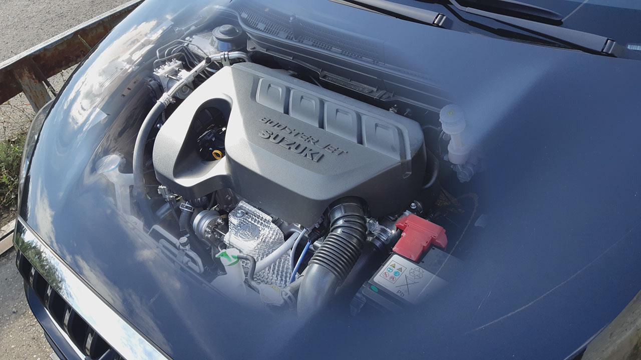 Suzuki SX4 S-Cross 1,4 literes BoosterJet motorja