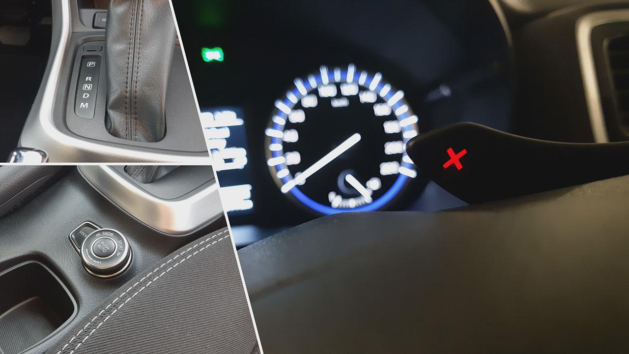 Suzuki SX4 S-Cross 1.4 GL+ 4WD 6AT váltója