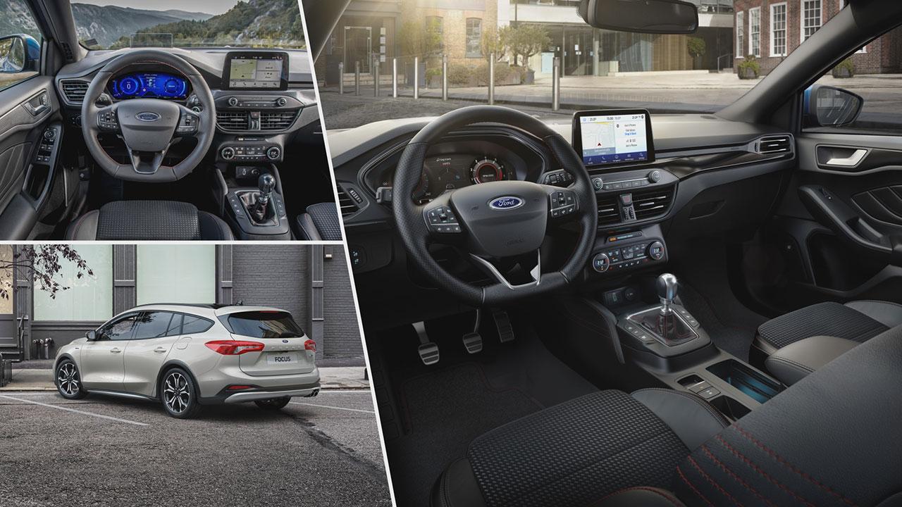 Ford Focus 1.0 EcoBoost Hybrid beltér