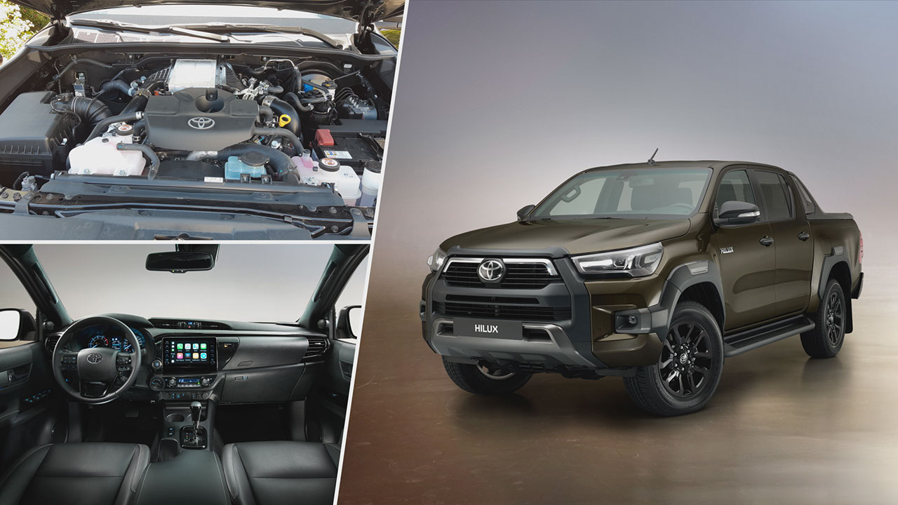 Toyota Hilux Invincible felszereltséggel