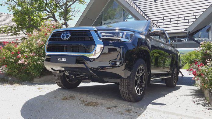 Toyota Hilux 2020 bemutató