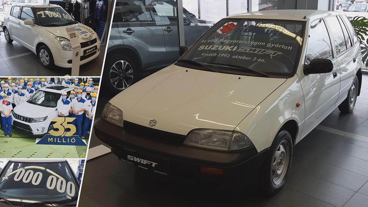 Az első Esztergomban legyártott Suzuki