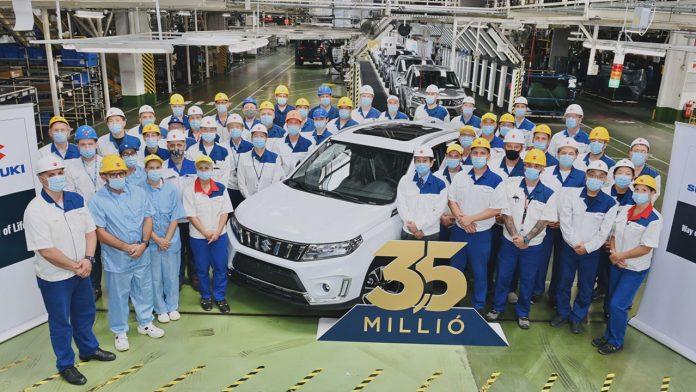 3,5 millió magyar Suzuki – Jubileum az esztergomi gyárban