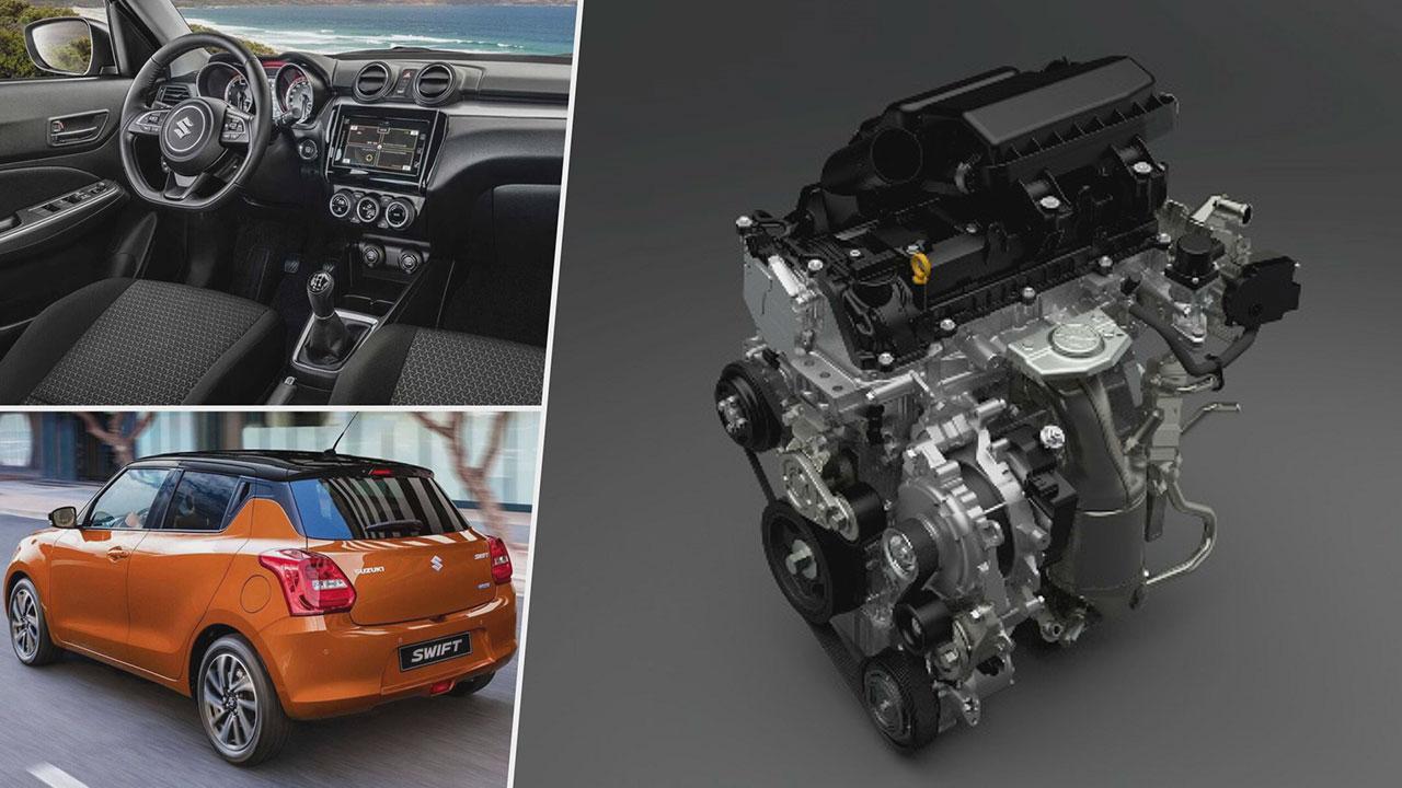 Suzuki Swift Hybrid 12V 2020 motorja