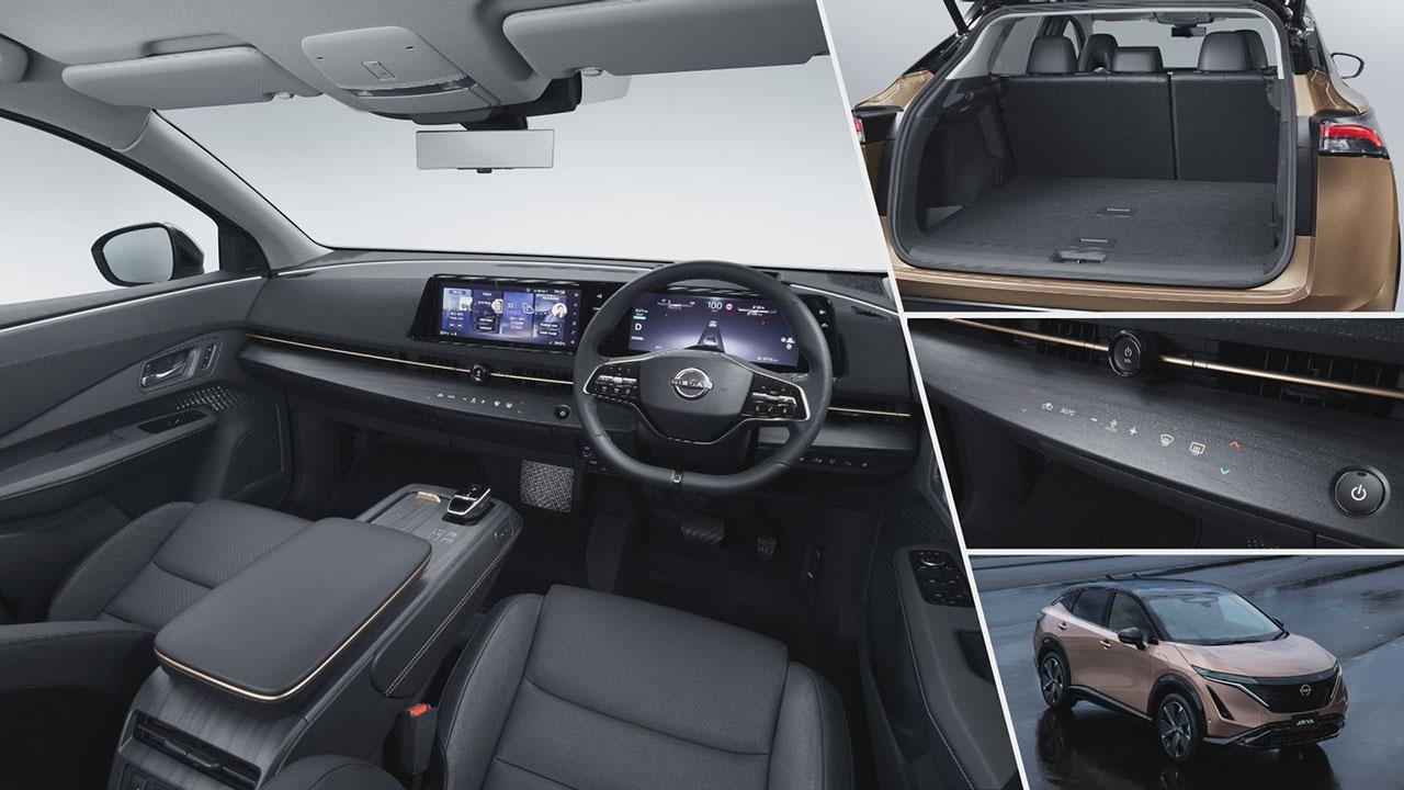 Nissan Ariya műszerfala