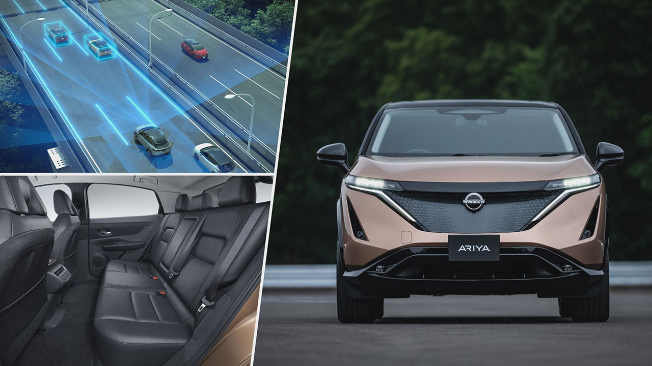 Nissan Ariya ProPILOT rendszer