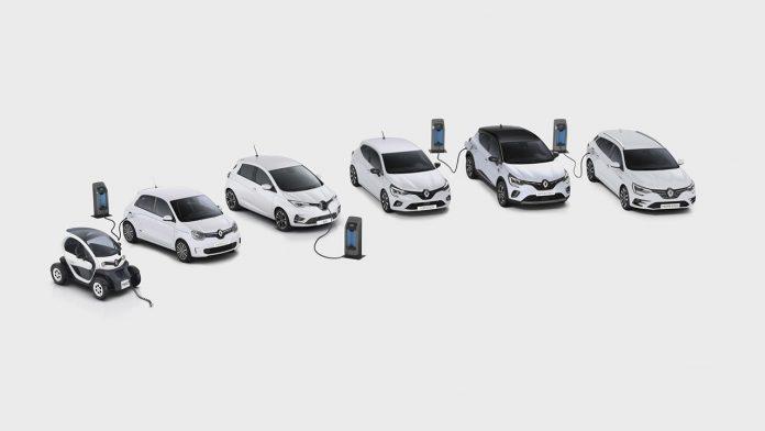 Elektromos Renault-ok
