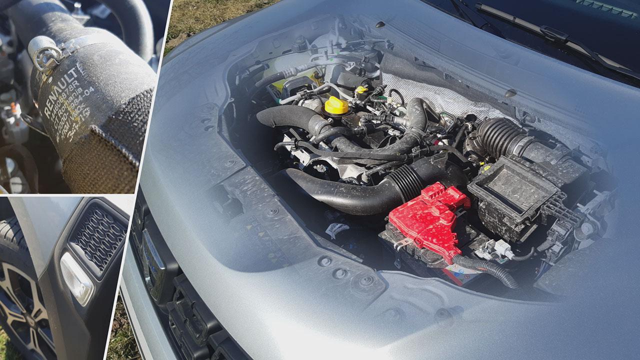 Dacia Duster TCe 100 2WD motorja