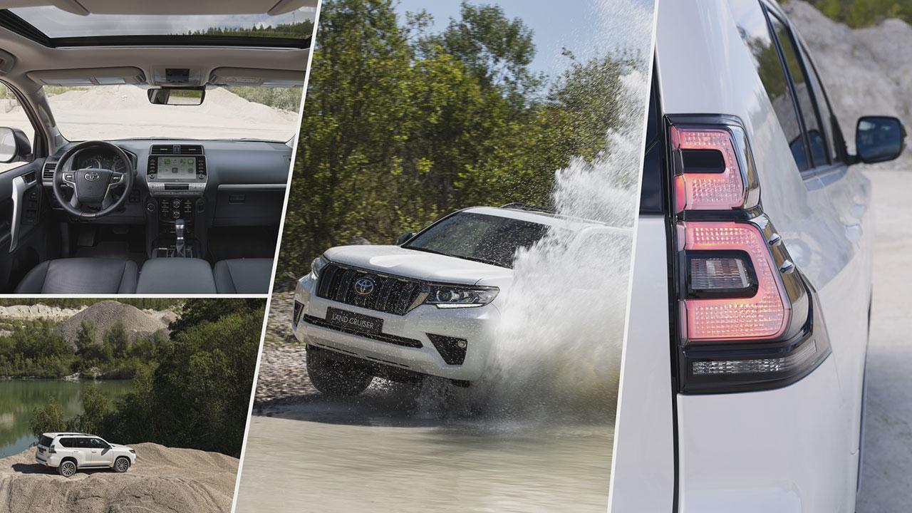 Toyota Land Cruiser off-road képességei