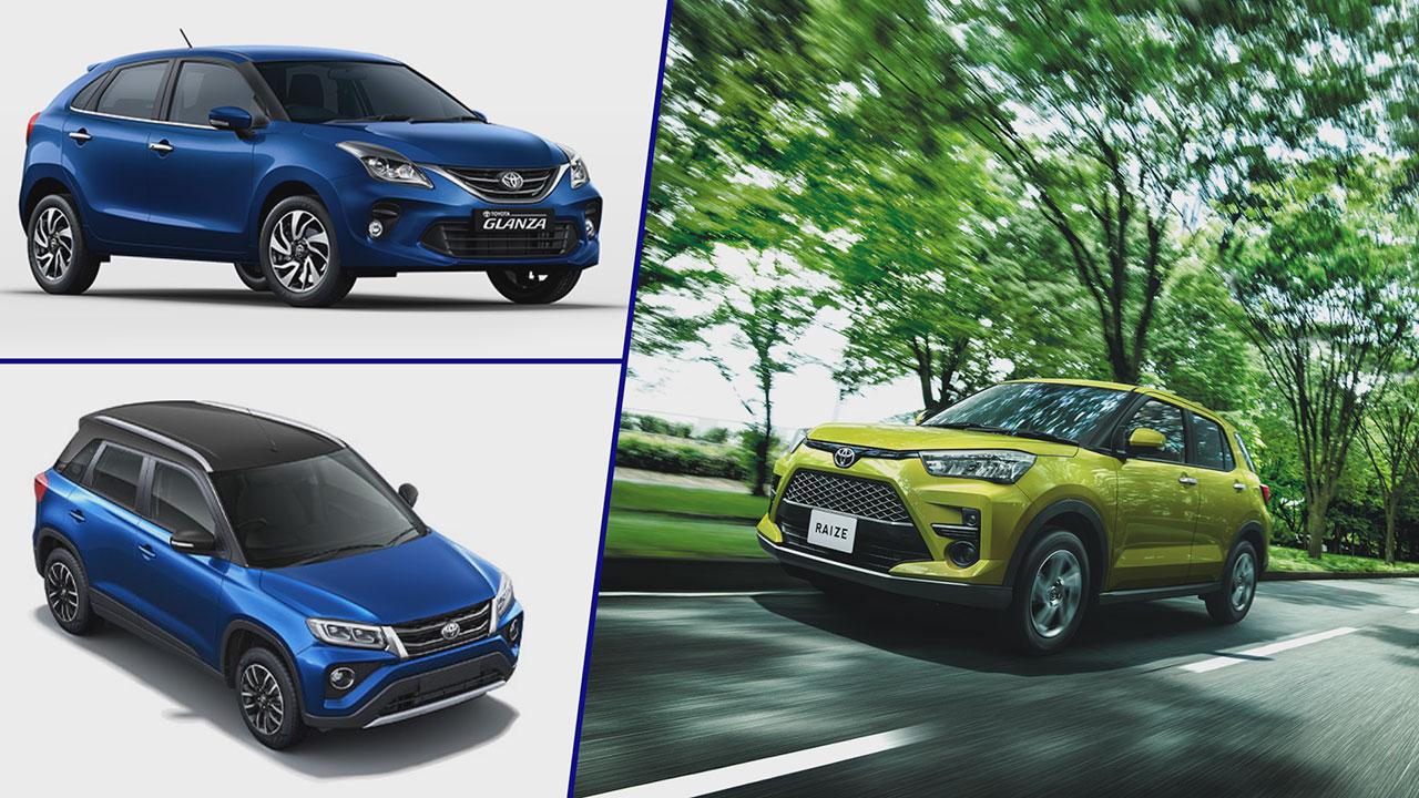 Toyota Glanze és Toyota Urban Cruiser