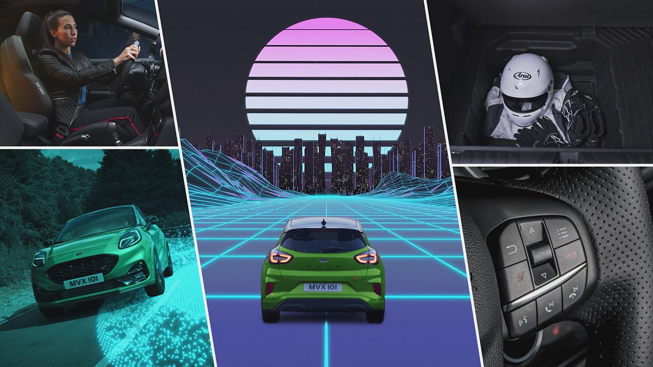 A Ford Puma ST Next Level című sorozata a közösségi oldalakon