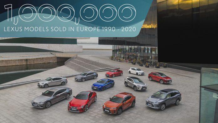 Egymillió Lexus Európában