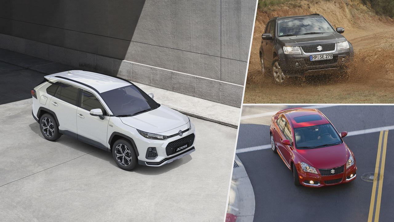 A Suzuki Across ára