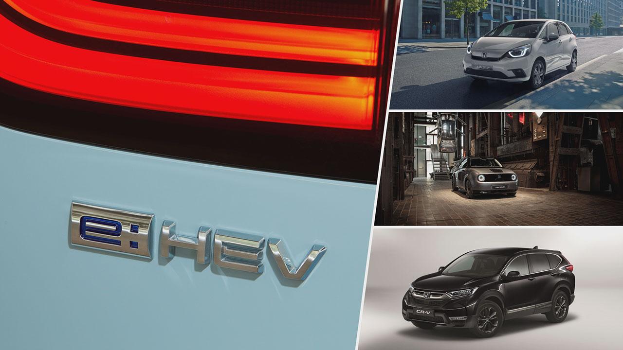 Honda e:HEV hibrid modelljei