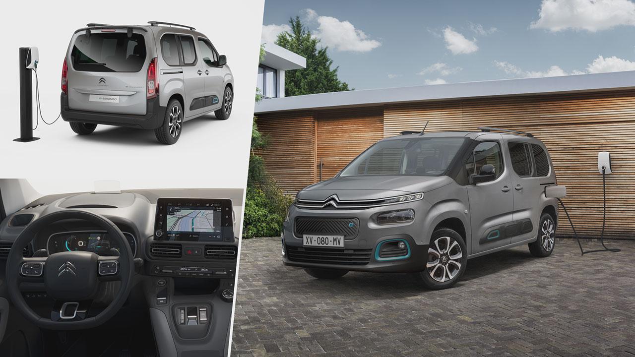 Citroën ë-Berlingo külseje