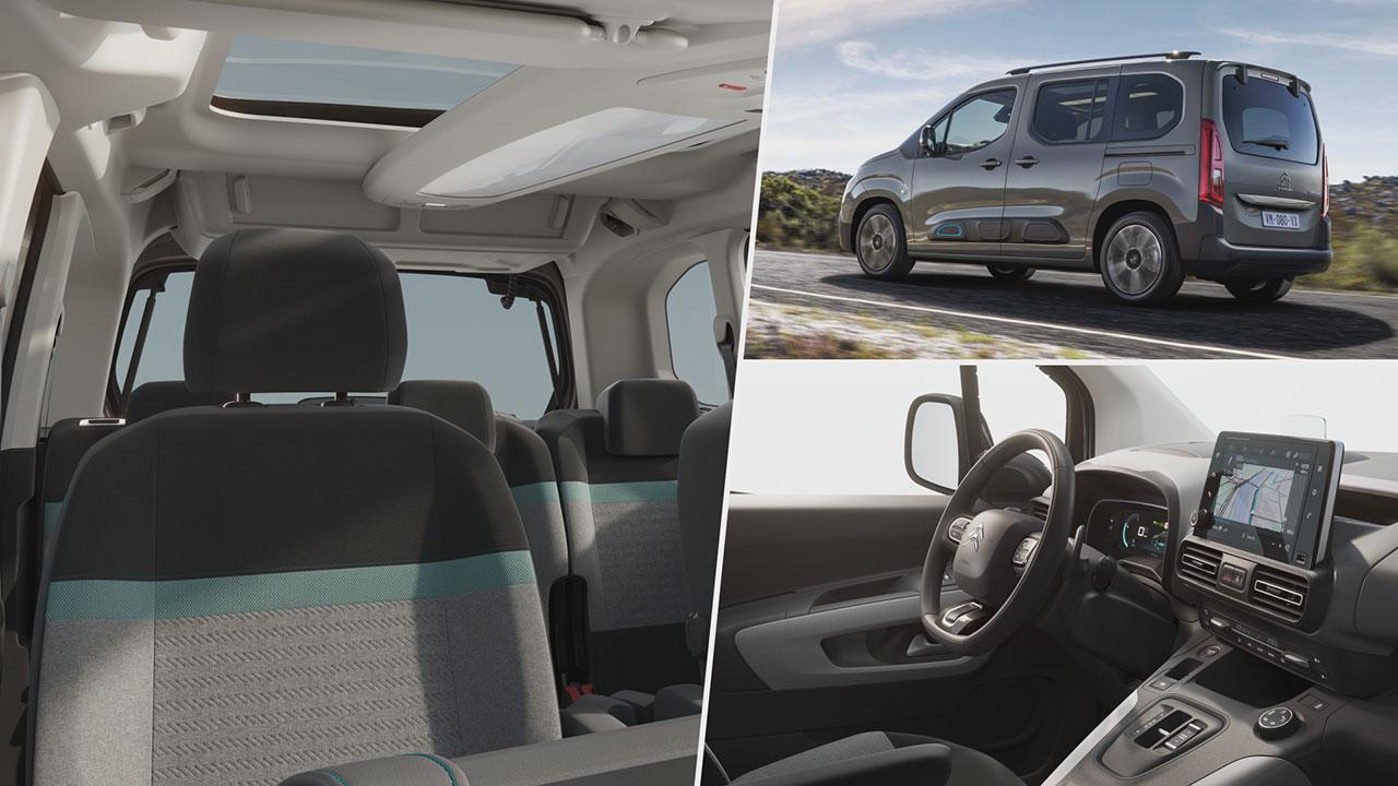 Citroën ë-Berlingo beltere
